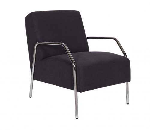 fauteuil-antraciet-met-chroom-woood-antraciet