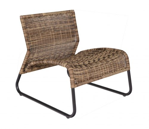 fauteuil-west-woood-bruin