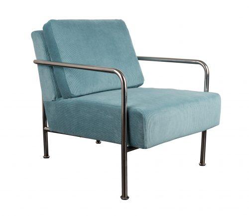 fauteuil-x-bang-rib-blauw-blauw