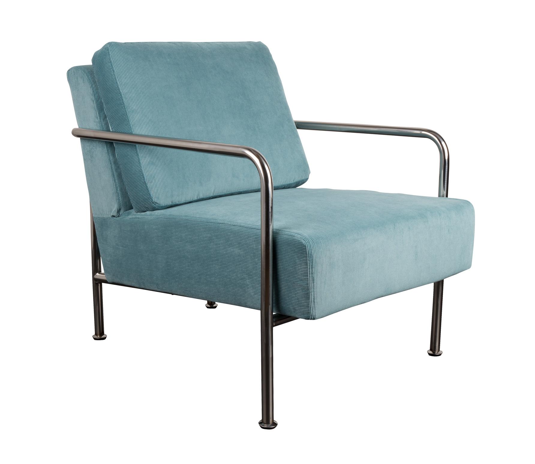 Zuiver fauteuil x bang rib blauw blauw - Comfortabele fauteuils ...