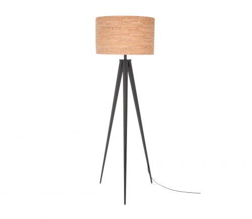 staande-vloerlamp-tripod-kurk-zwart-zwart