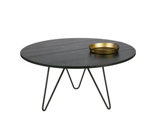 VS-vtwonen-ronde-eettafel-Circle-zwart-incl-deco