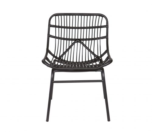 chat-lounge-stoel-zwart-bepurehome-zwart