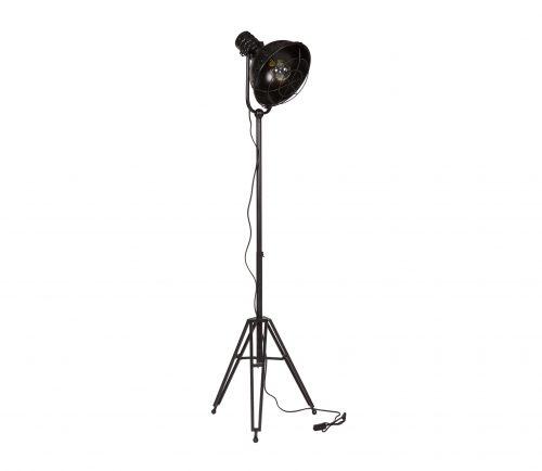 vintage-staande-vloerlamp-spotlight-zwart-bepurehome-zwart